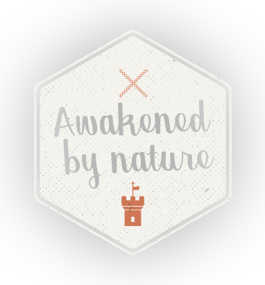 Your senses awakened by nature