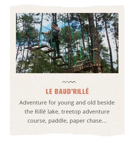Baud Rillé Treetop adventure