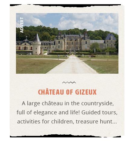 Advert Château of Gizeux