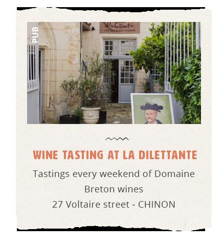 Domaine Breton dégustations